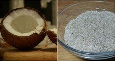 farinha de coco como fazer