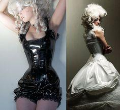 Long underbust corset - artifice