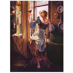 Cinderella's New Day #OilPaintingDisney