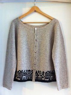 Ravelry: Pritt's Nyhavn - inspiration! Knitted motif border.