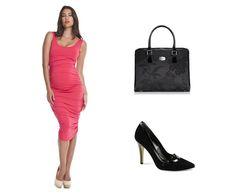 Hyper glamours maternity dress