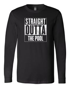 "No, really... I probably just got out of the pool. Introducing ""Straight outta the pool"" by SwimWithIssues (Formerly iSwimWithIssues)"