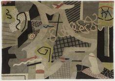 Stuart Davis, Flying Carpet, 1942 (carpet)
