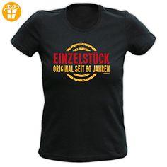 T-Shirt zum 80. Geburtstag für Damen / Frauen : Einzelstück / Einzelstück Original 80 Jahre - Damen Geburtstagsshirt Farbe: schwarz (*Partner-Link)
