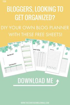 blogger planner, diy blogging planner, how to make your own planner, downloadable planner sheets, #blogplanner, #downloadableplanner, #bloggingplanner, #blogplannersheets, #plannersheets, #printableplanner, #printableplannerpages