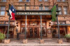 Fort Worth Stockyards Hotel, Fort Worth, Texas