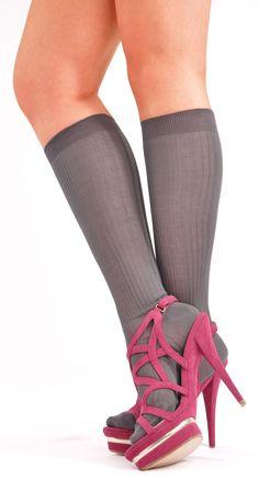 High Elasticity Girl Cotton Knee High Socks Uniform Sunset Tree Reflection Women Tube Socks