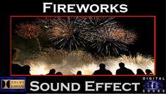 Real Fireworks Sound Effect   HI - RESOLUTION AUDIO