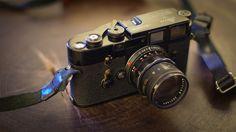 Leica M3 Original Black Paint + 50mm F2 Rigid Black Paint V2