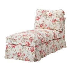 $79.00 Baby Ikea Ektorp Chaise Cover Slipcover Byvik Multicolor - IKEA Ektorp free-standing chaise lounge replacement slipcover in the color Byvik Multicolor. Beautiful floral (roses) pattern on a off white background. Top quality, hard-wearing, 100% cotton fabric.  Easy to keep clean with a removable, machine washable cover.    Change the look of your furniture for a fraction of the price, A range ...