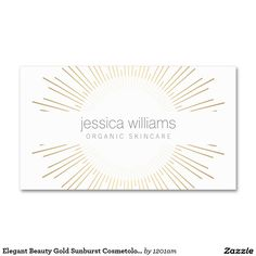 20 best business cards for spray tanning salons images on pinterest elegant beauty gold sunburst business cards for spray tanning salons cosmetologists boutiques and more colourmoves