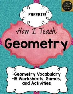 """This is my geometry FREEBIE that includes a game I use to give my students practice classifying shapes in my classroom. This contains a small part of my """"How I Teach Geometry"""" unit to give you an idea of what you're getting in the full product.I use these activities in my classroom to teach geometry each year.This sample game is called """"I'm the Best Polygon!""""Included in the whole product you will find:Included in this product you will find:Geometry Vocabulary: pg. 1-8Matching Irregular…"""