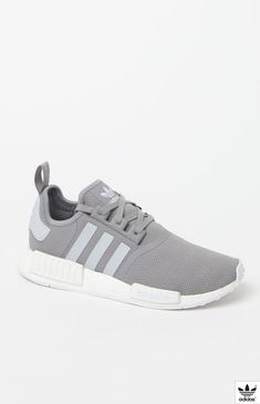 NMD R1 Grey White Shoes Adidas Nmd R1 fdb908a2bdb