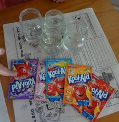 Time for Play: Fun With Kool Aid