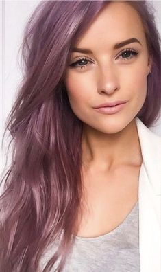 pastel hair Amazing mauve hair color: Related posts:Korean hairstyle chestnut color and makeupCute girl, hair length Hair Color Purple, Cool Hair Color, Pink Hair, Green Hair, White Hair, Fall Hair Colour, Amazing Hair Color, Ash Purple Hair, Pastel Hair Colors