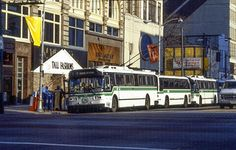 RTA DAYTON  FLYER TROLLEY  COACHES AND  RTS BUS