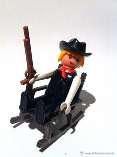Famobil Sheriff - Vaquero - Geobra 1974 - Oeste - Playmobil - Far West