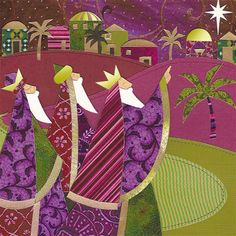 Three Wise Men Christmas Greeting Cards