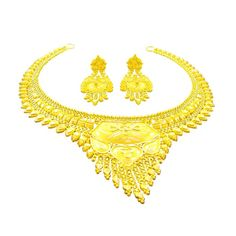 Jpearls South-Indian Traditional Gold Necklace Set for PRICE: Rs. 69,540