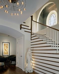 Modern Staircase and Entry Foyer