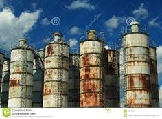 Image result for abandoned industrial site