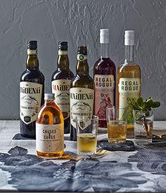 Australian Gourmet Traveller drinks feature on Australian vermouth.