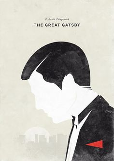 F. Scott Fitzgerald, The Great Gatsby. Design: Hannes Beer.