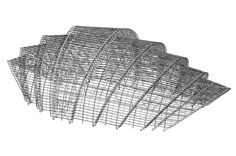 Read about The Arena on this page. Concept Models Architecture, Architecture Art Design, Parametric Architecture, Roof Architecture, Facade Design, Roof Design, Futuristic Architecture, Architecture Details, Airport Design