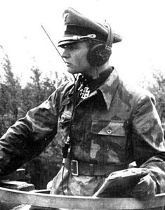 "Max Wunsche Ritterkreuz/ Eichenlaube 12 th SS Panzer Division. Able commanders like him, were what made the SS Pz. Divisions the most formidible forces in WW2. Even though the enemy had overwhelming superioty in men, material, resources, these so called, ""Firebrigades"" were able to inflict huge loses on Soviet, Allied tank forces."