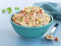Kremet kyllingsalat Chicken Salad, Pasta Salad, Potato Salad, Nom Nom, Dinner Recipes, Good Food, Food And Drink, Cooking Recipes, Lunch