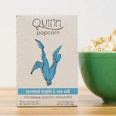 Quinn Vermont Maple & Sea Salt Organic Microwave Popcorn