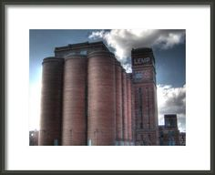 Lemp Brewery Brewery black and white by FengShuiPhotography #beer #homebrew #architecture