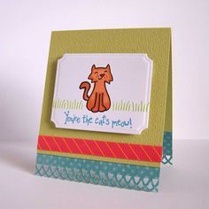Sometimes the cutest critters are in your own backyard! With this 4×6″ set of 18 photopolymer clear stamps, you can bring them along on any occasion. Coordinati