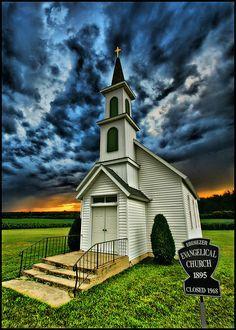 Ebenezer Evangelical Church, Paynesville, MN.