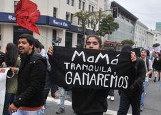 Primera marcha estudiantil de 2012