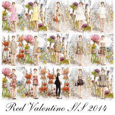 Crafty Lady Abby - NYC FASHION WEEK S/S 2014: Red Valentino