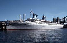 Chandris Lines SS Australis, built as SS America