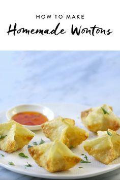 How to Make Wontons at Home #purewow #food #asian #recipe #cooking