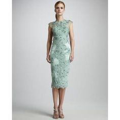 Women's Mandalay Embroidered Lace Cocktail Dress