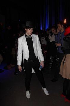 Outside Rachel Sin Montreal Fashion Week SMM24