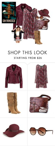 """""""Boho Sunday"""" by briannaandrews500 ❤ liked on Polyvore featuring Haute Hippie, Burberry, Topshop and Max Studio"""