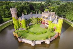 Looking for a little 'happy ever after?' Check out these lovingly restored ancient fortresses as captured by drones.