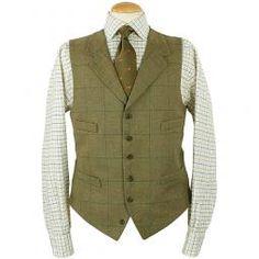 The perfect tweed waistcoat