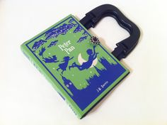 Peter Pan Book Purse von NovelCreations auf Etsy, $35,00
