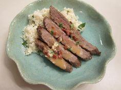 Sweet Beginnings: Chipotle-Herb Flank Steak