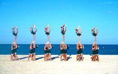 Cheerleading  #Beach #Scorpion #Cheer #Team