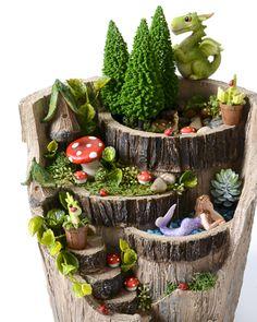 Fairy garden ideas - fairy garden inspiration