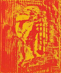 """Impression grand format sur support textile polyester - aspect soyeux - Peinture de l'original en """"laque ancienne"""". Tension sur châssis bois.  65x50cm"""