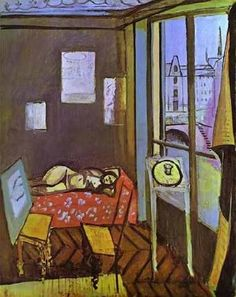 Image result for henri matisse model in the studio