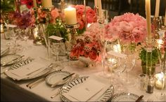 Beautiful table for a wedding